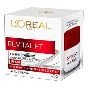 Creme Anti-idade Revitalift Diurno 49g, L'Oréal Paris   R$32