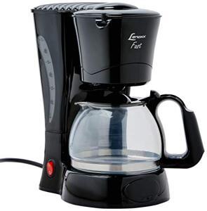 Cafeteira Fast, Lenoxx PCA011_127, Preto - R$47