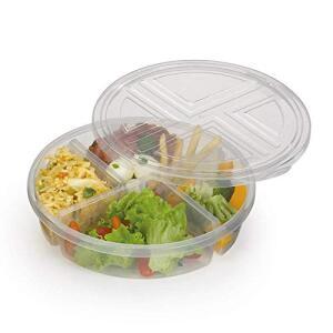 Conservadora de Alimentos 4 Divisões Premier Nitronplast Incolor | R$10