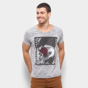 Camiseta Bossa Brasil Mirror Masculina - Preto R$34