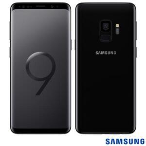 """Samsung Galaxy S9 Preto, com Tela de 5,8"""", 4G, 128 GB e Câmera de 12 MP - G960 - R$1800"""