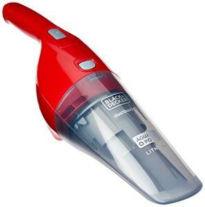 Aspirador de Pó e Água - Bivolt/Bateria Litio 3.6V, Black & Decker, Vermelha | R$155