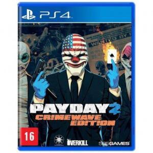 Jogo Payday 2 Crimewave Edition para PlayStation 4 | R$ 40