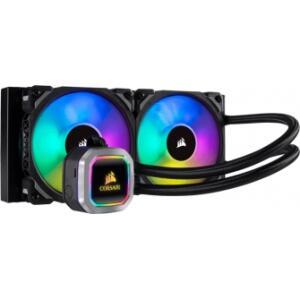 Water Cooler Corsair Platinum H100i RGB 240mm, Cw-9060039-ww   R$789