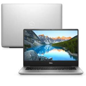 """Notebook Dell Inspiron i14-5480-U10S 8ª Core i5 8GB 1TB Placa de Vídeo FHD 14"""" Linux Prata"""