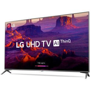 "Smart TV LED 49"" Ultra HD 4K LG 49UK6310PSE com IPS, Inteligência Artificial , WI-FI, Processador Quad Core, HDR 10 Pro, HDMI e USB R$1899"