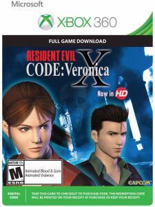 (Xbox Live) Resident Evil: Code Veronica X Xbox 360/One