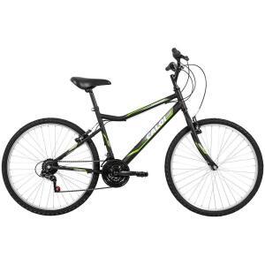 Bicicleta Caloi Twister Aro 26 com Freio V-Brake e 21 Velocidades na Cor Preta - R$339