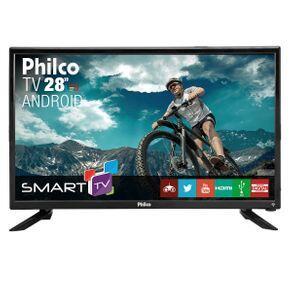 "TV Philco Led 28"" PH28N91DSGWA - Bivolt - R$698"