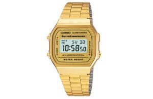 Relógio Casio Vintage Unissex Dourado Digital A168WG-9WDF. por R$ 119