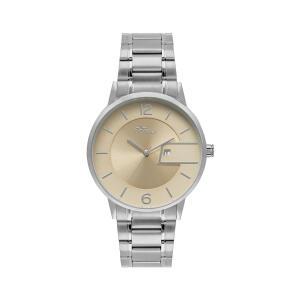 Relógio Condor Eterna Unissex Prata Analógico COGL10BT/3T