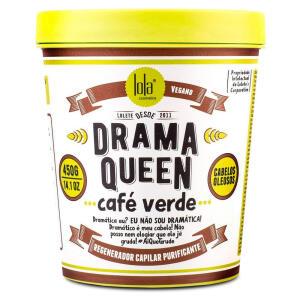 Lola Cosmetics Drama Queen Café Verde - Máscara Capilar - 450g R$27