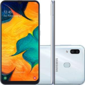Smartphone Samsung Galaxy A30 64GB Dual Chip Android 9.0 por R$ 1007
