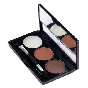 Kit para Sobrancelha RK by Kiss Nome - Chocolate Brown R$25
