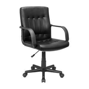 Cadeira Presidente em Aço Carrefour Home Preta HO163030 - R$184