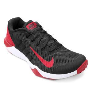 Tênis Nike Retaliation Tr 2 Masculino - Preto e Vermelho - R$205