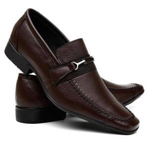 Sapato Social Masculino em Couro Legítimo Costura Manual VR - R$69