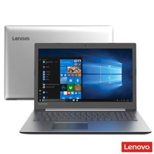 """Notebook Lenovo Intel® Core® i3-7020U, 4GB, 1TB, Tela de 15.6"""", IdeaPad 330, Prata - 81FE000QBR"""