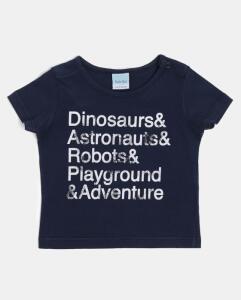 Camiseta Infantil Dinosaurs | R$10