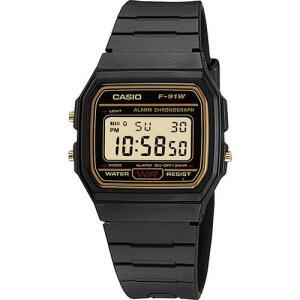 [AME R$ 87,99] - Relógio Masculino Casio Digital Vintage F-91WG-9QDF