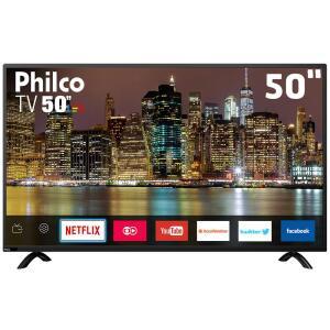 """[Ganhe 34 mil Milhas Tudo Azul] Smart TV LED 50"""" Full HD Philco PTV50E60SN por R$ 1699"""