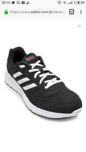 Tênis Adidas Duramo Lite 2 Feminino - Preto e Branco