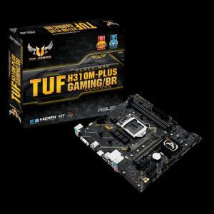 Placa Mãe ASUS TUF H310M-Plus Gaming/BR LGA1151, DDR4 por R$ 388