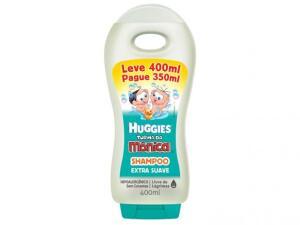 Shampoo Huggies Turma da Mônica - Extra Suave 400ml - R$9