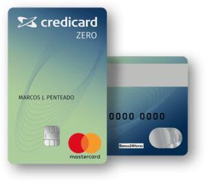 Cartão de crédito Credicard zero  sem anuidade