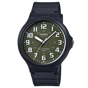 Relógio Masculino Casio Analógico MW2403BVDF - Preto | R$89