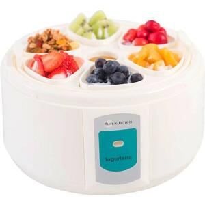 Iogurteira Fun Kitchen 900ml com 6 Potinhos | R$72