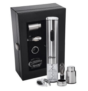 Kit para Vinho Oster Inspire Inox 5 peças - R$139