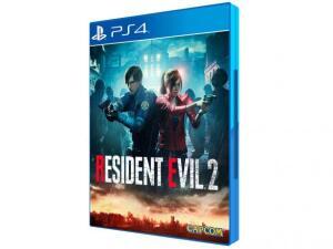 Resident Evil 2 para PS4 - Capcom - R$135