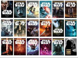 Livros de Star Wars por 9.90 na Editora Aleph