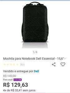 [ClubeDaLu] Mochila Dell Antifurto Essential