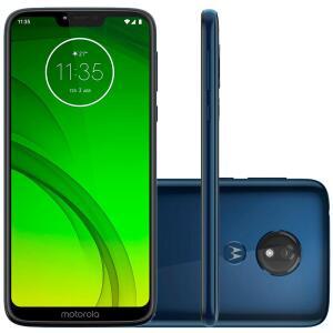 Smartphone Motorola Moto G7 Power, 32GB, 12MP,  Azul Navy -  R$830