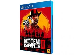 [Primeira Compra] Red Dead Redemption II para PS4 - Rockstar Games R$107