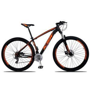 Bicicleta KSW XLT Aro 29 LARANJA, passadores Shimano R$799
