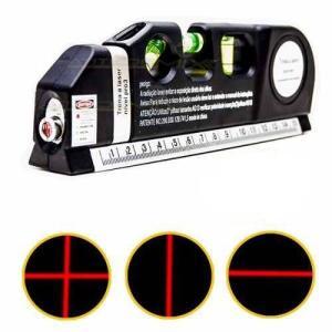 Nível Nivelador Laser Trena 3 Bolhas Horizontal Vertical