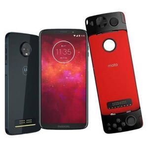 Smartphone Motorola Moto Z3 Play Gamepad Índigo 64gb POR r$ 1299
