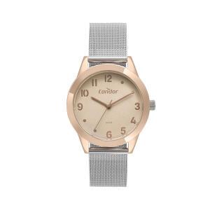 Relógio Condor Braceletes Feminino Prata Analógico CO2036KVU/4J - R$129