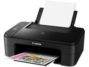 "Impressora Multifuncional Canon TS 3110 - Jato de Tinta Wi-Fi Colorida LCD 1,5"" USB por R$ 220"