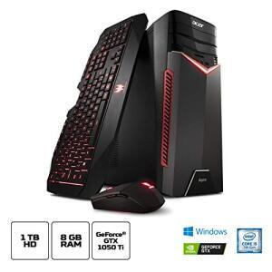 Desktop Gamer, Acer Aspire GX-783-BR11, Intel Core i5, 8GB RAM, 1TB HD, HD NVIDIA GeForce GTX 1050Ti, Windows 10 - R$3.699