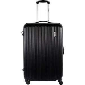 Mala de Viagem Pequena MB-NJ210 Preta Com 4 Rodas Alça Regulável Travel Max | R$120