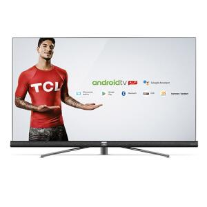 "Smart TV Android Ultra HD 4K LED 55"" TCL C6 HDR Bluetooth Wi-Fi e Soundbar Harman | R$2.895"