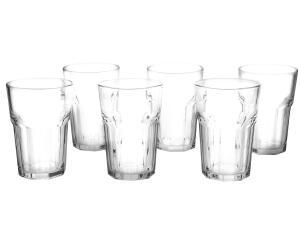 Jogo de Copos de Vidro 6 Peças 450ml - Casambiente Boston - R$25