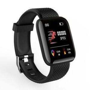 Relógio Inteligente Smartwatch À Prova D\'água Com Pedômetro Monitor De Freqüência Cardíaca R$71