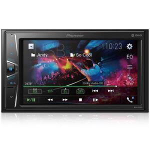 Multimidia Receiver Pioneer MVH G218BT Tela 6,2 USB Bluetooth AUX e Entrada Camera de Re por R$ 477