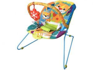 Cadeira de Descanso Vibratória - Musical Lite Baby Style - Safari | R$103