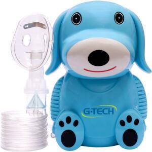 Inalador e Nebulizador NEBDOG G-Tech Azul Bivolt | R$99